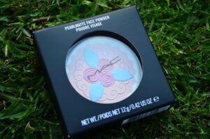 MAC Pink Buttercream Pearlmatte Face Powder Review / Swatches 3