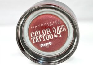 Maybelline Metallic Pomegranate 24H Color Tattoo Review/Swatches 3