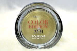 Bourjois Kaki Chéri Color Edition 24H Eyeshadow Review / Swatches 3