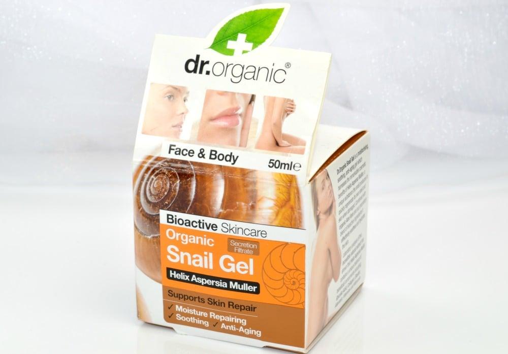 Dr Organic Snail Gel Review 1