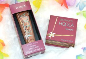 Benefit Hoola Bronzing Powder and Hoola Ultra Plush Lip Review / Swatches 3