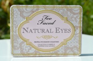 Too Faced Natural Eyes Neutral Eye Shadow Collection | Review and Swatches 3