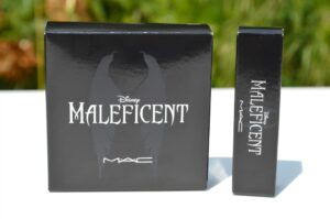 MAC Maleficent True Love's Kiss Lipstick and Natural Beauty Powder 3
