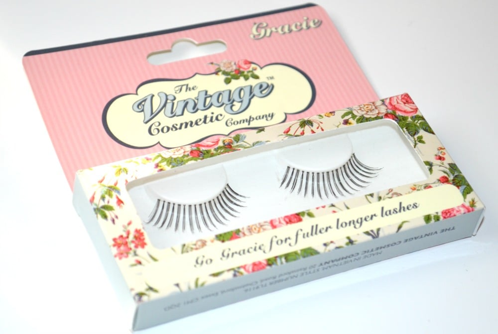 The Vintage Cosmetic Company Gracie False Lashes