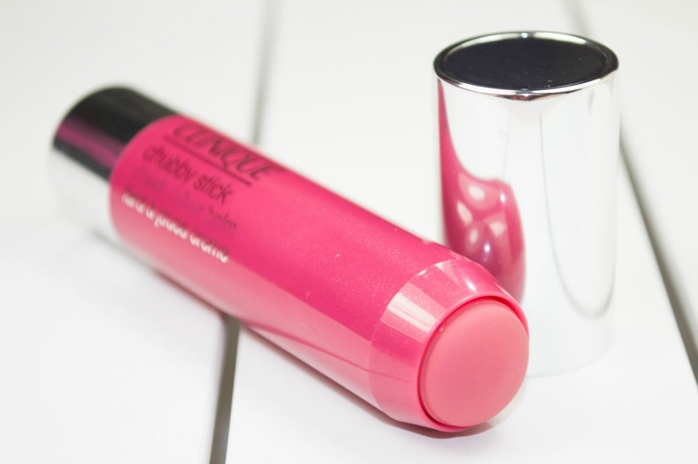 Clinique Chubby Stick Cheek Colour Balm Review / Swatches in Roly Poly Rosy