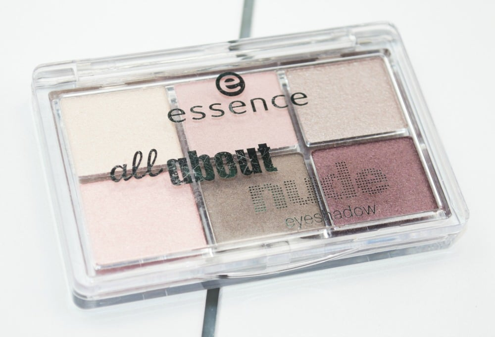 Essence All About Nude Eyeshadow Palette Review and Swatches