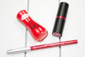 Essence Red Lips and Tips Lipstick and Nail Polish Review 3