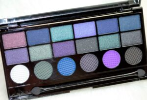 Makeup Revolution Give Them Nightmares Eyeshadow Palette Review / Swatches 3