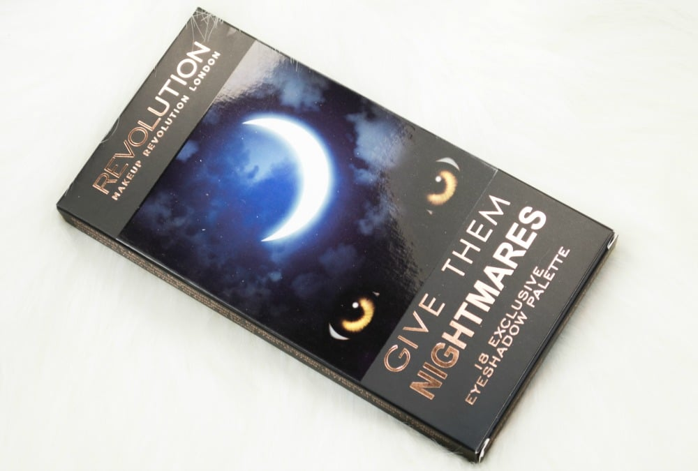 Makeup Revolution Give Them Nightmares Eyeshadow Palette Review / Swatches