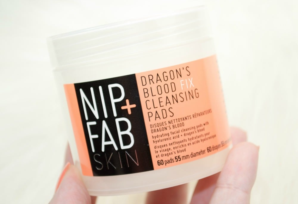 Nip + Fab Dragon's Blood Fix Range Review - Cleansing Pads, Plumping Mask and Plumping Serum
