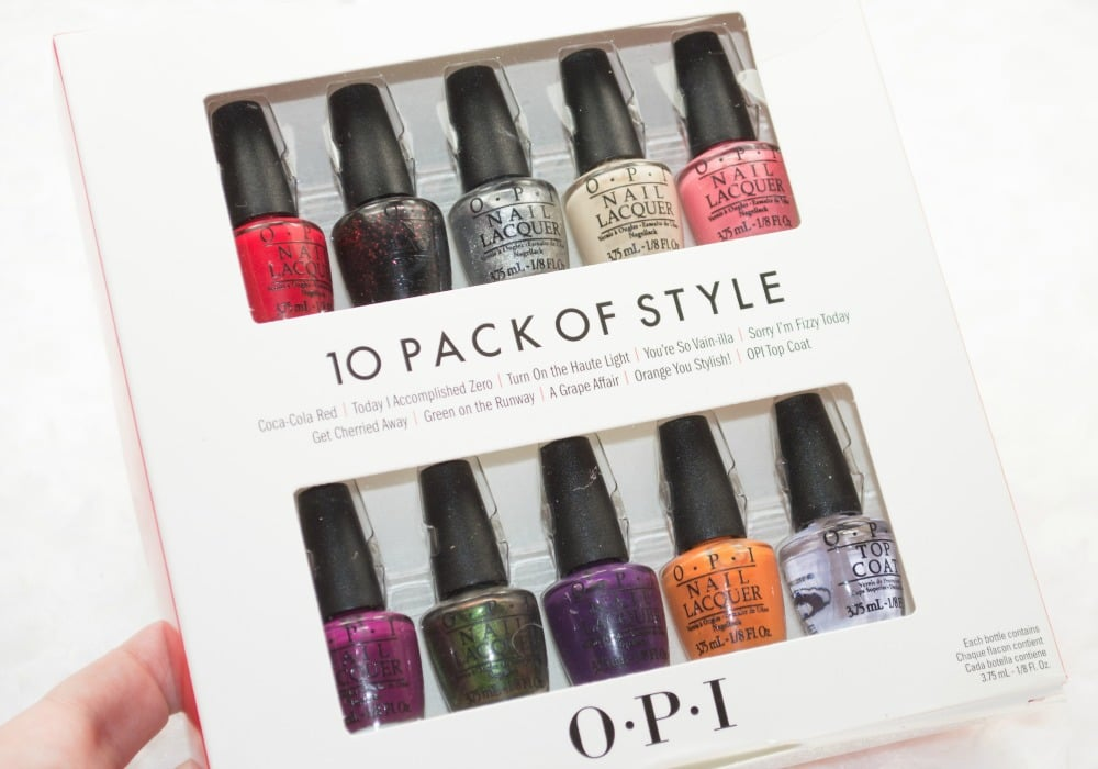 OPI Coca-Cola Nail Lacquer Collection Review / Swatches