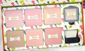 Benefit Cheeky Sweet Spot Gift Set Review and Swatches 3