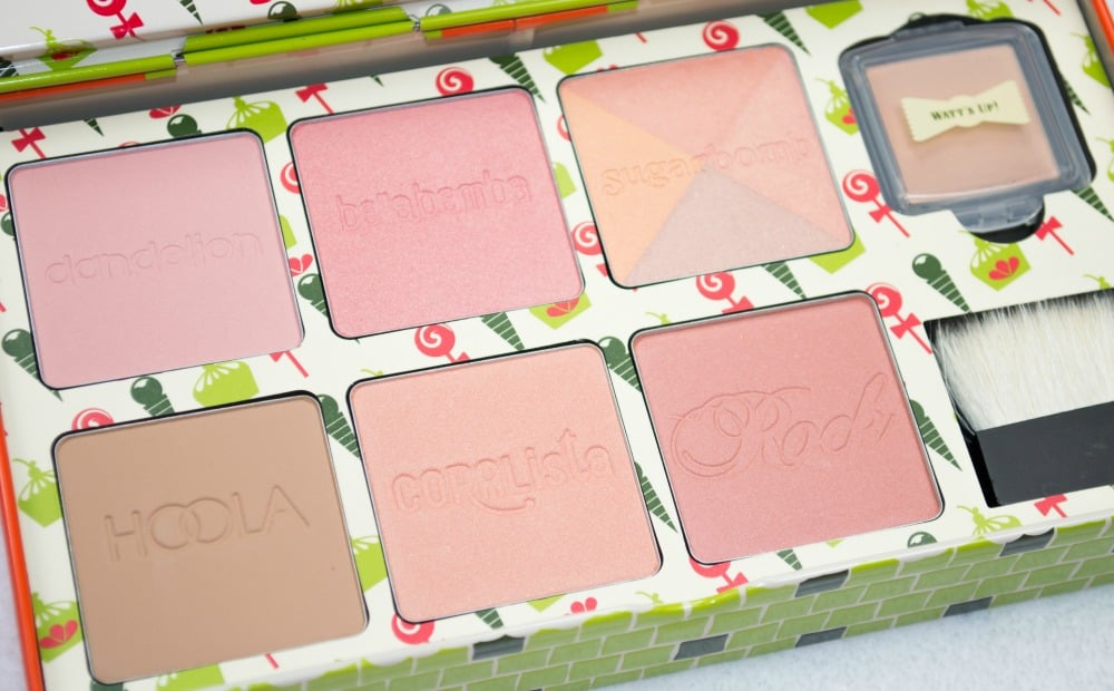 Benefit Cheeky Sweet Spot Gift Set Review and Swatches