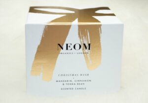 NEOM Christmas Wish Scented Candle Review