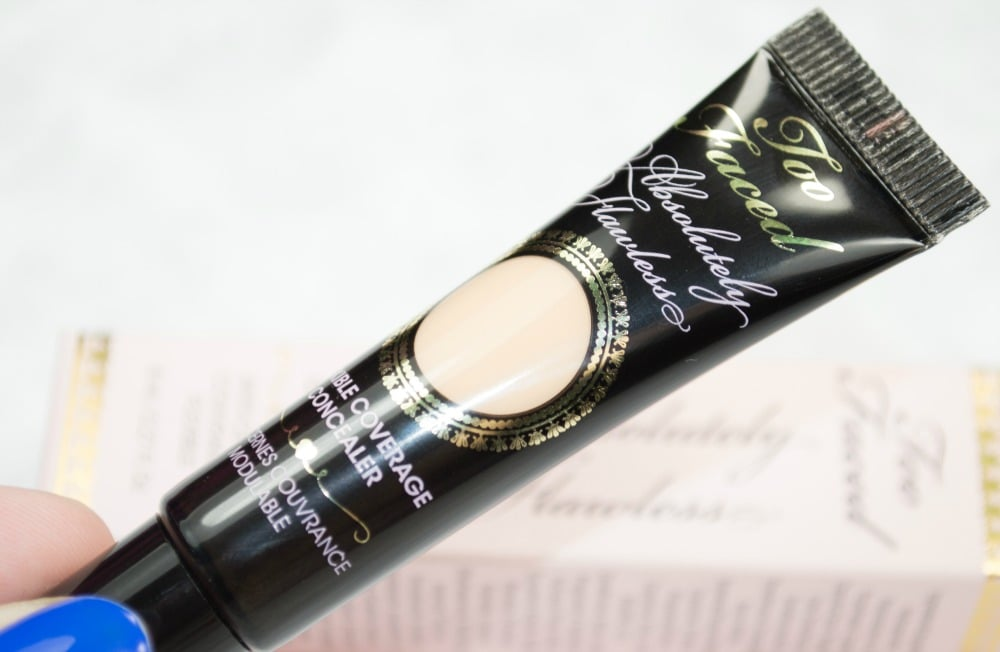 Too Faced Absolutely Flawless Flexible Coverage Concealer Review / Swatches