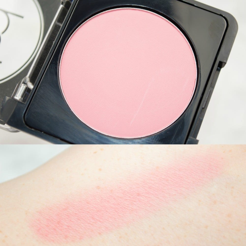 Swatches of the Barbara Daly Blusher