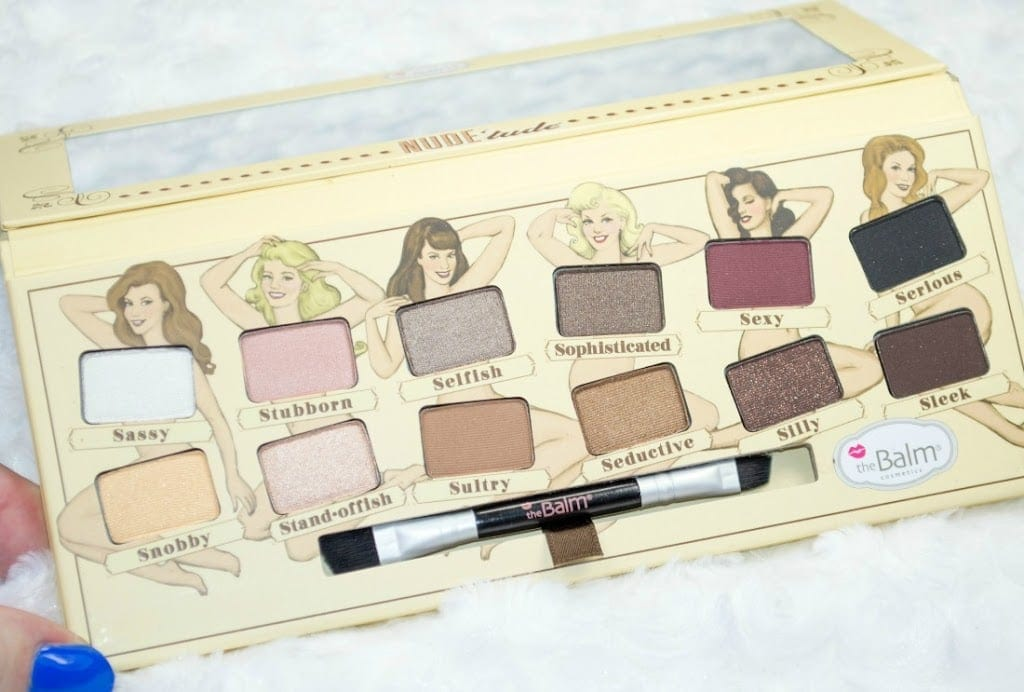theBalm Nude Tude Eyeshadow Palette Review / Swatches