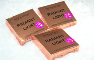 Makeup Revolution Radiant Light Illuminating Baked Powders Review / Swatches 3
