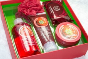 The Body Shop Strawberry Collection