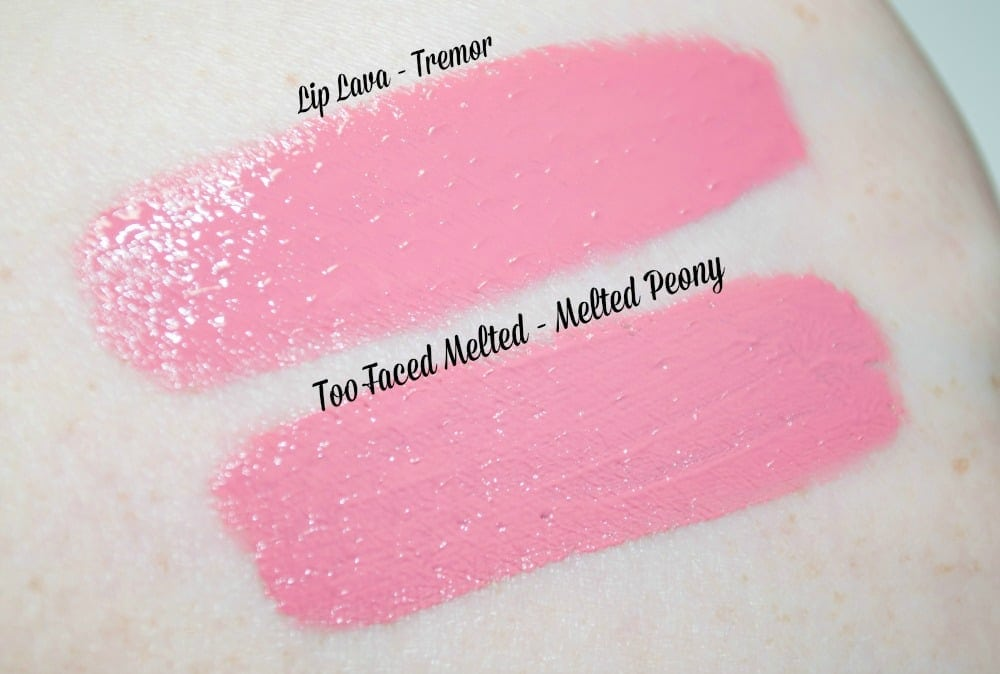 Makeup Revolution I ♡ Makeup Lip Lavas - the £2.99 Too Faced Melted Dupes