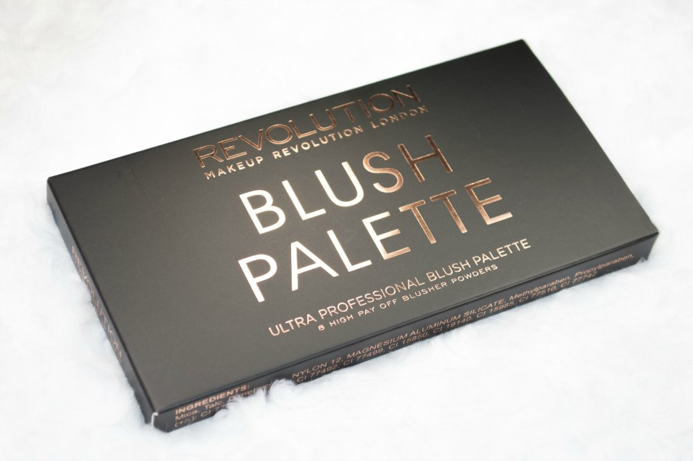 Image showing the matte black box with rose gold foil writing