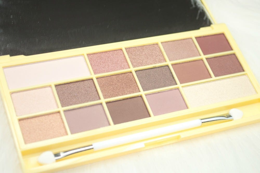 Makeup Revolution I ♡ Makeup Naked Chocolate Eyeshadow Palette