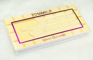 Makeup Revolution I ♡ Makeup Naked Chocolate Eyeshadow Palette Review / Swatches 4