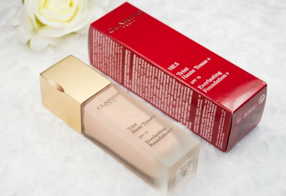 Clarins Everlasting Foundation + Review and Swatches