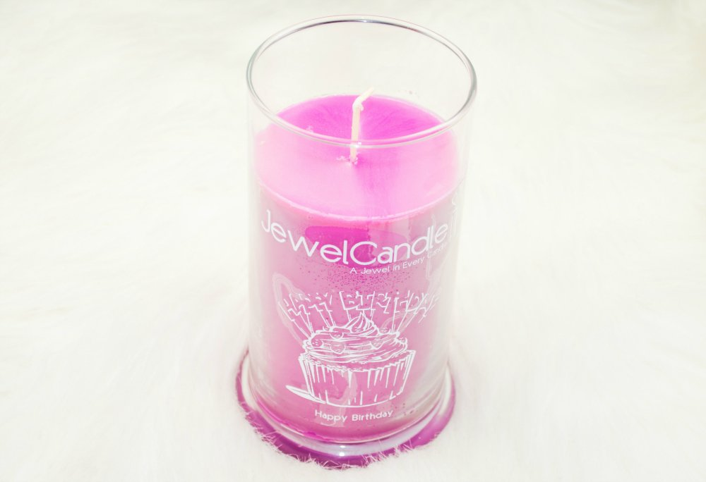 JewelCandle Happy Birthday Ring Candle