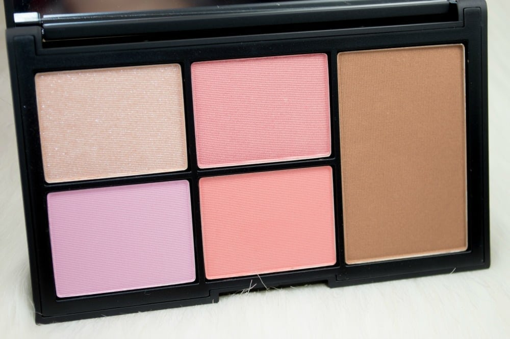 NARS Virtual Domination Palette Swatches and Review