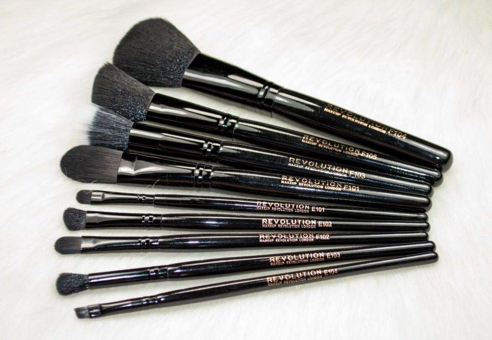 The Makeup Revolution Pro Makeup Brush Collection