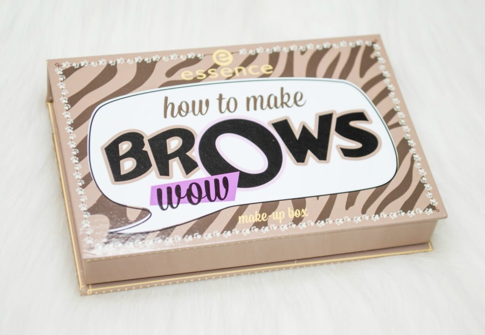 Essence How to Make Brows Wow Brow Kit Review and Swatches