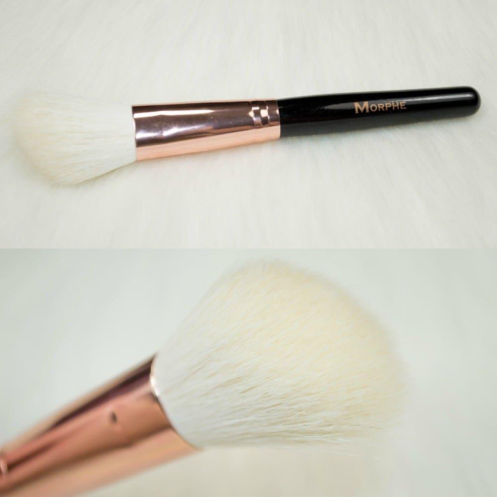 contour brush morphe. morphe brushes rose gold brush set contour