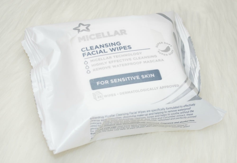 Superdrug Micellar Facial Cleansing Wipes