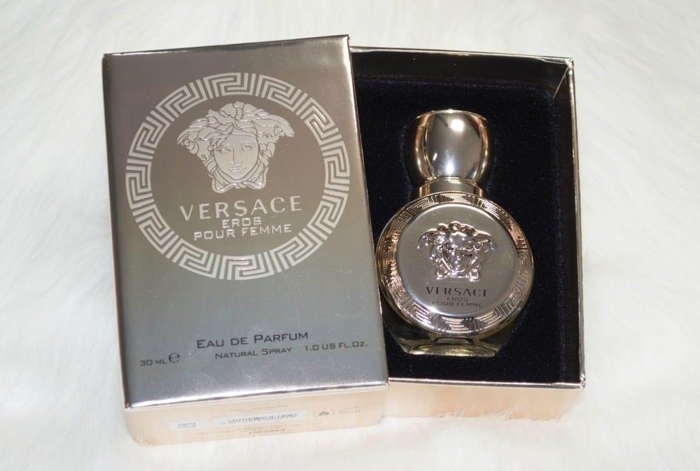 Versace Eros Pour Femme Eau de Parfum Review & GIVEAWAY