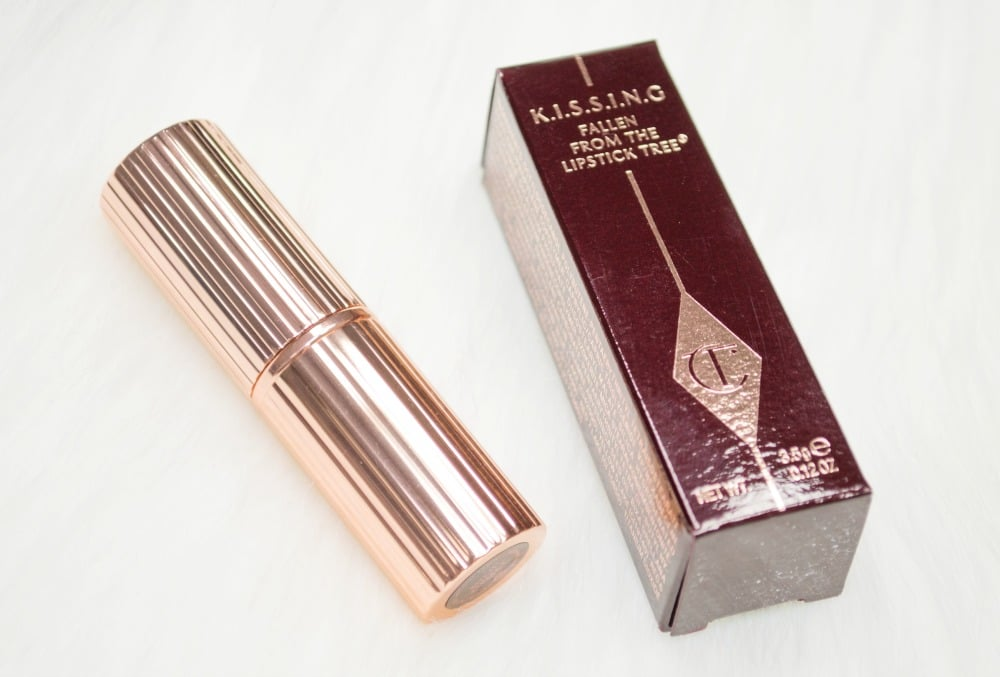 Charlotte Tilbury Bitch Perfect K.I.S.S.I.N.G Lipstick Review and Swatch