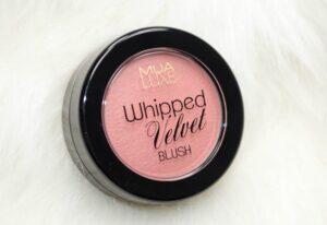 MUA Luxe Spry Whipped Velvet Blush 3