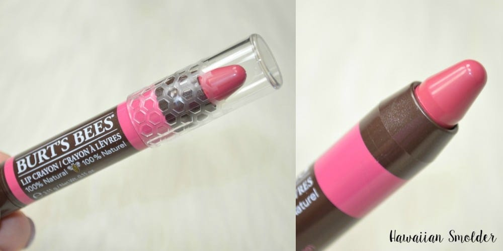 Burt's Bees Lip Crayons Review and Swatches