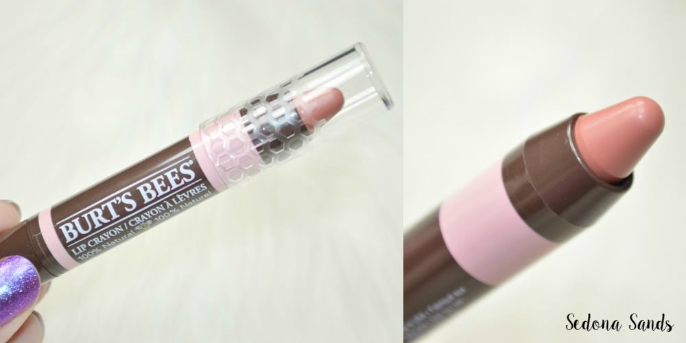 Burt's Bees Lip Crayons Review and Swatches. I've swatched five shades of the new range of Burt's Bees 100% natural lip crayons