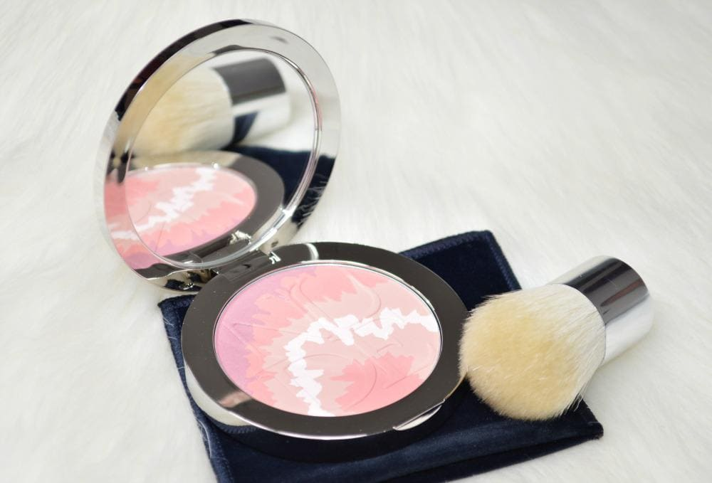 DIOR Pink Sunrise Nude Tan Tie Dye Blush