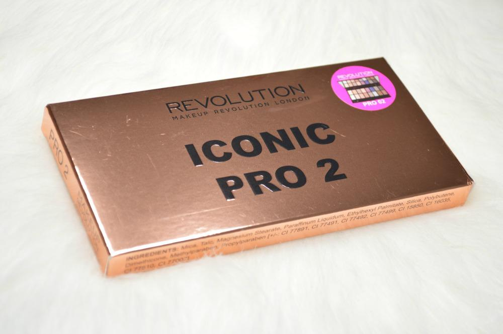Makeup Revolution Iconic Pro 2 Palette Review and Swatches