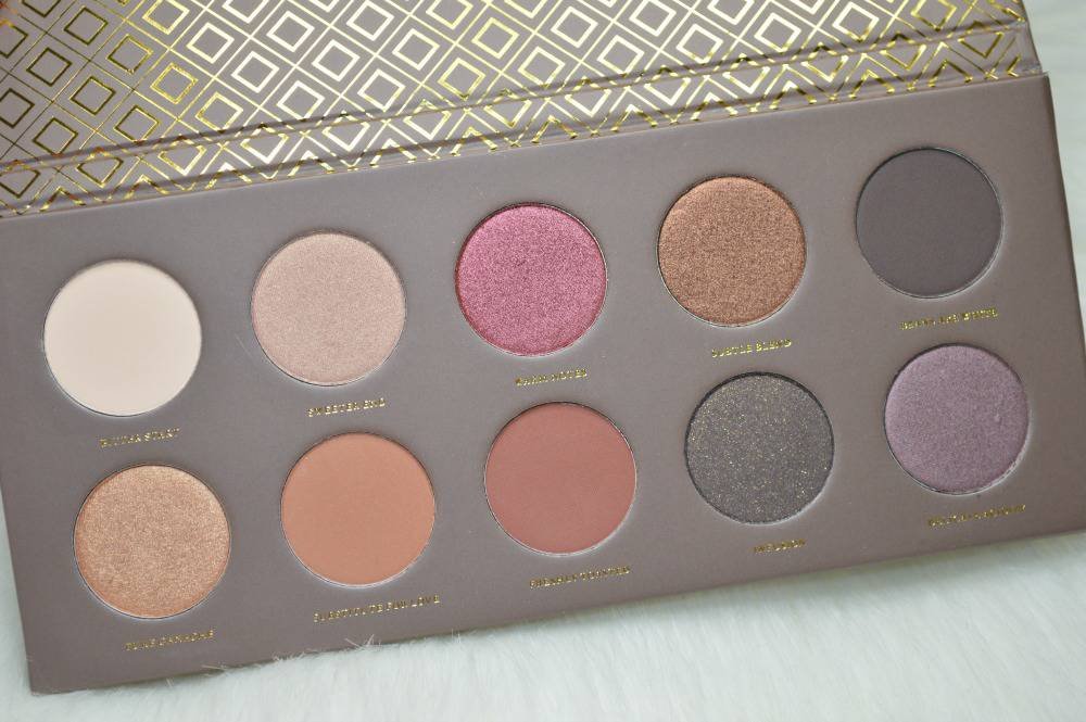 Zoeva Cocoa Blend Eyeshadow Palette Review and Swatches