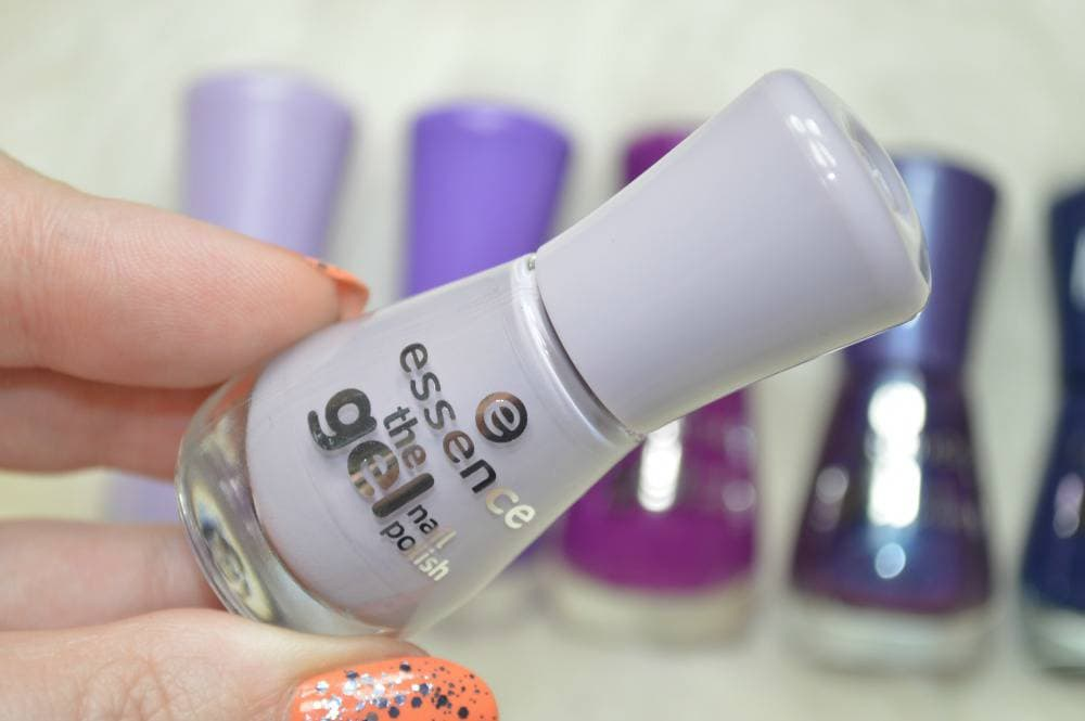 Essence The Gel Nail Polish Collection - The Purples