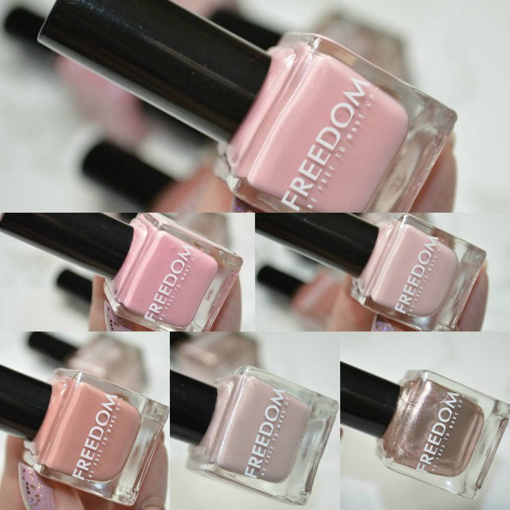 Freedom Pro Impact Nails Les Nudes Collection Review