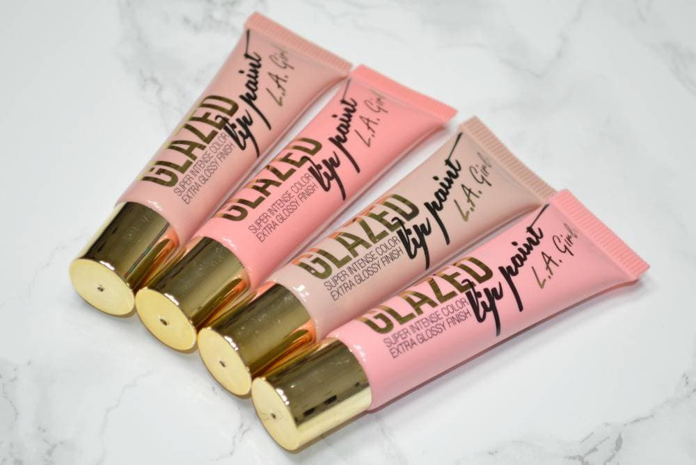 LA Girl Glazed Lip Paints Review and GIVEAWAY!