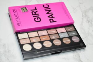 Makeup Revolution Girl Panic Eyeshadow Palette