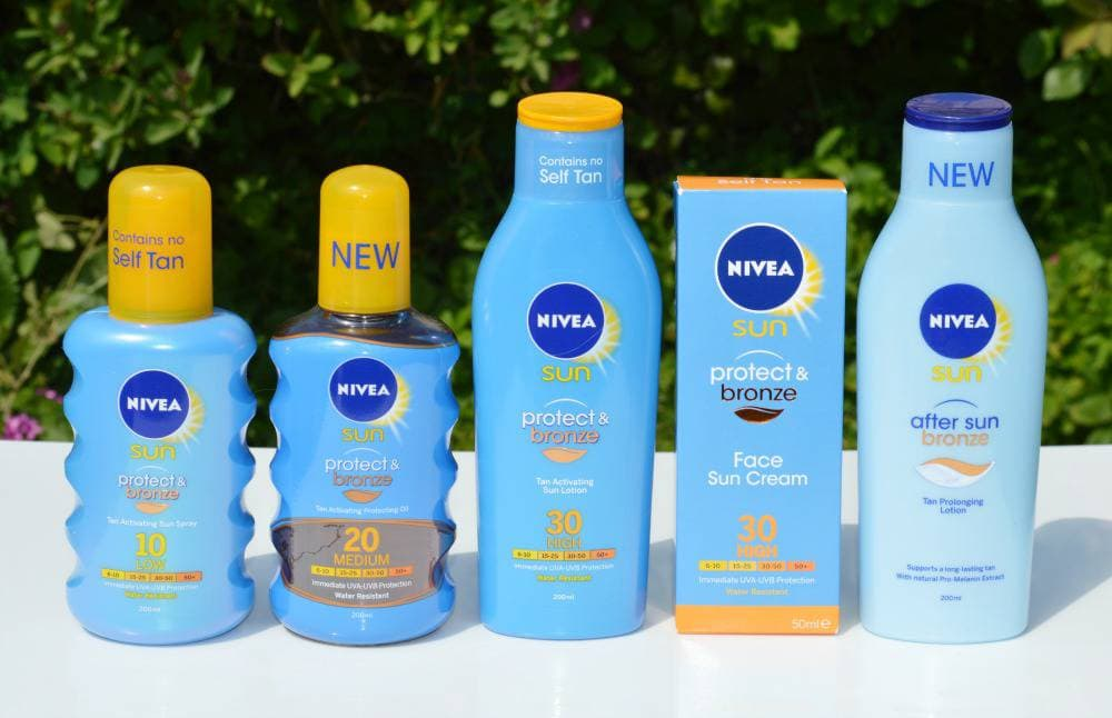 Nivea SUN Protect and Bronze Collection Reviews