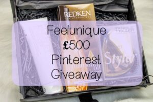 Feelunique £500 Pinterest Giveaway 3