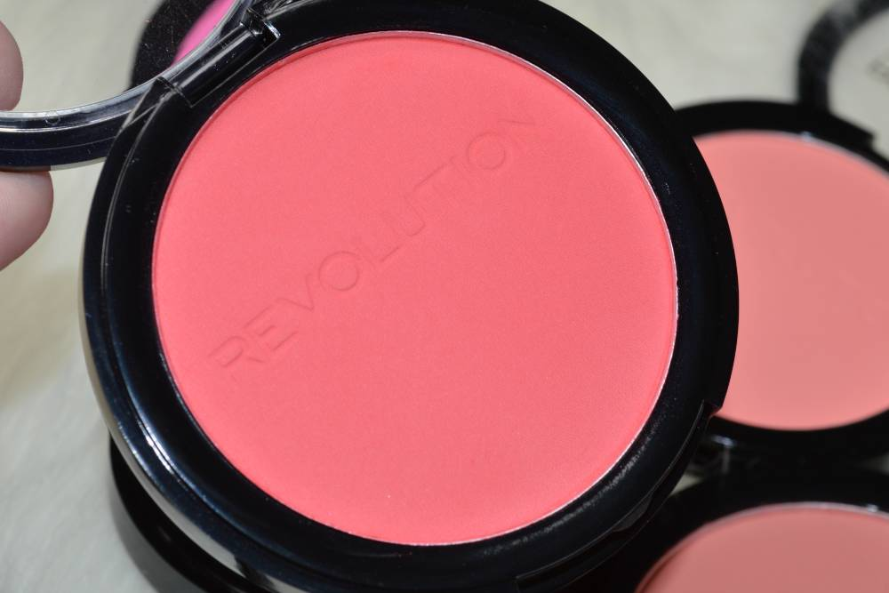 Makeup Revolution Matte Blusher Collection Review and Swatches (5)