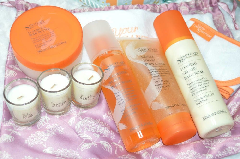 Sanctuary Spa Relax, Breathe and Let Go Gift Set